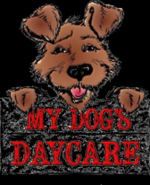 My dog's daycare logo