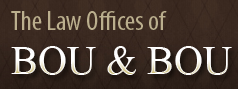the law offices of bou & bou logo