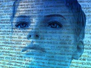 hacker woman