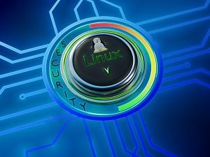 linux button