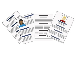 resume illustration