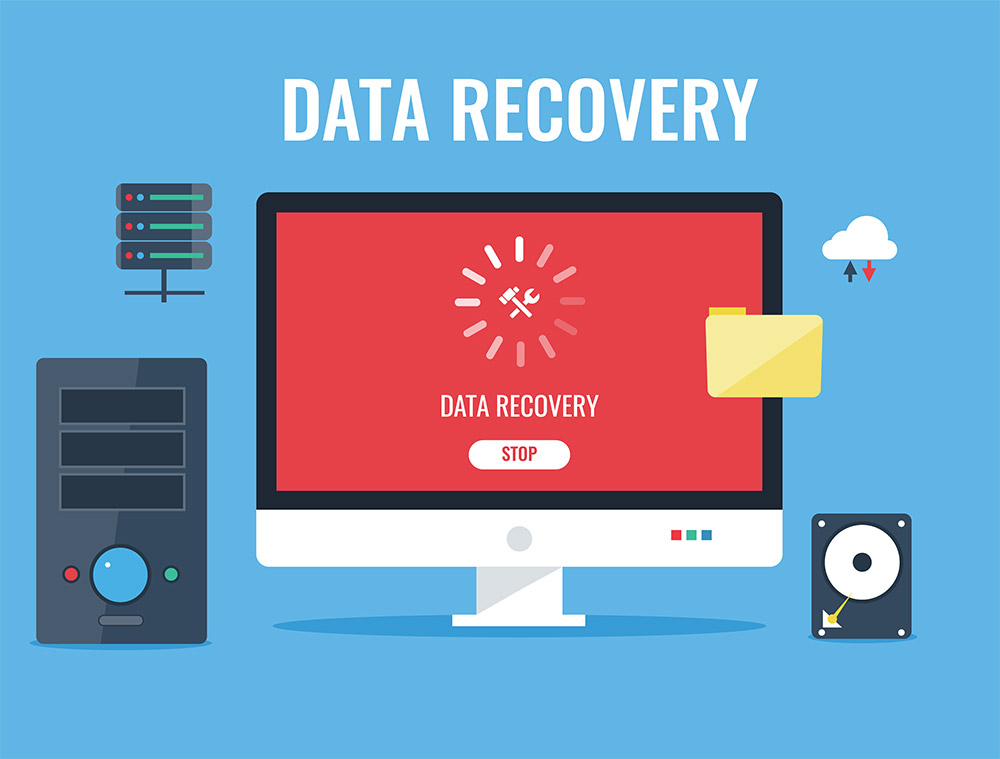 data recovery illustration