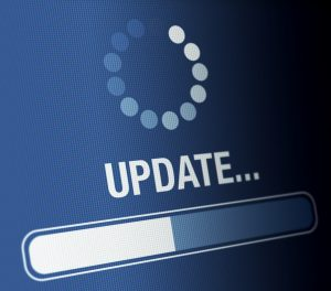 Computer screen or mobile device updating